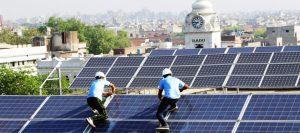 Solar system installer